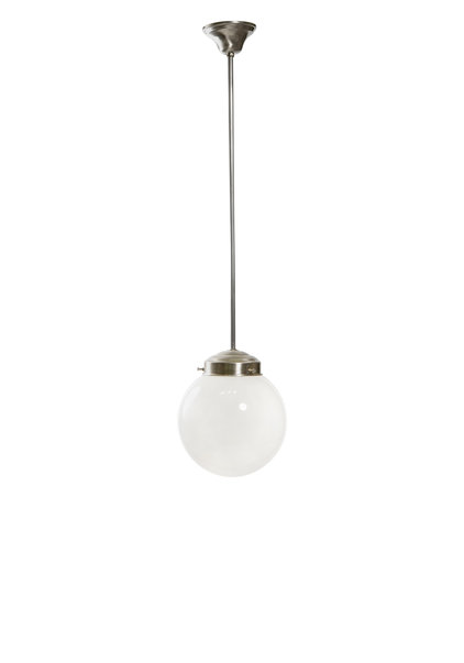 Pendant Lamp, Small White Sphere