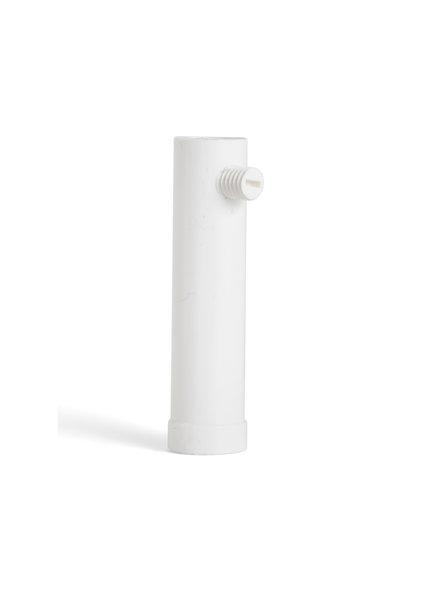 Strain Relief, White Plastic