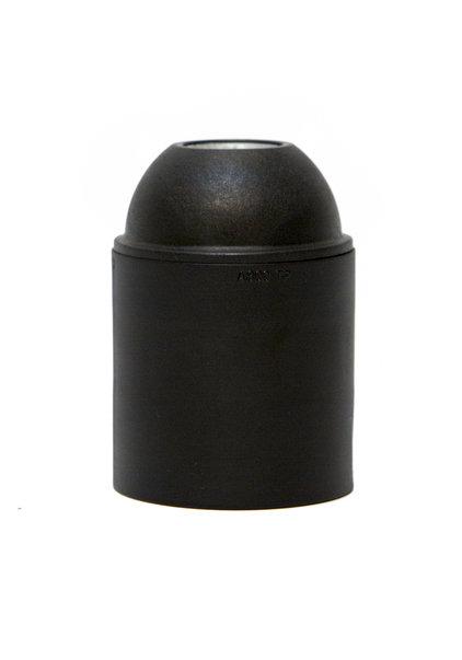 Lamp Socket, E27, Black