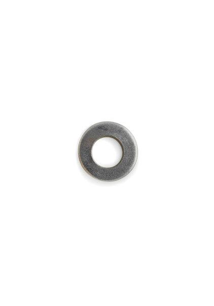 Carrosseriering, zilverkleurig metaal, 1.2 cm