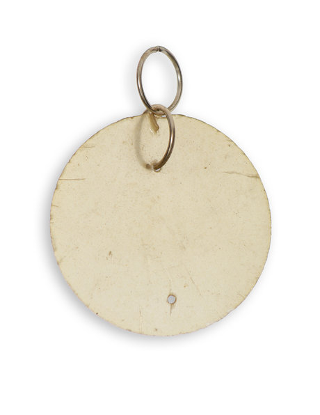 Round Nacre (Mother of Pearl) Bead, Very Flat Model
