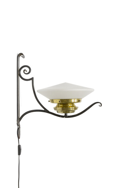 Wall Lamp,  Wrought Iron