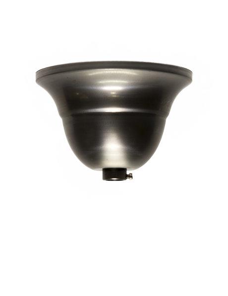 Ceiling plate, coarse metal