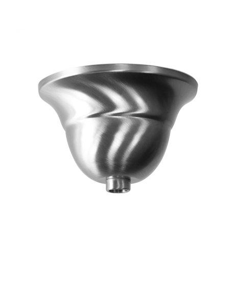 Ceiling cup, material: matt nickel