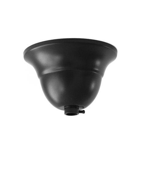 Plafondplaat, zwart