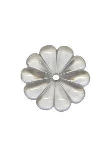 Crystal Glass for Chandelier: Rosette 4.8 cm / 1.9 inch