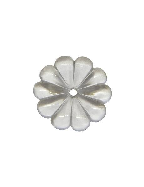 Chandelier parts, rosette, diameter: 4.8 cm / 1.9 inch