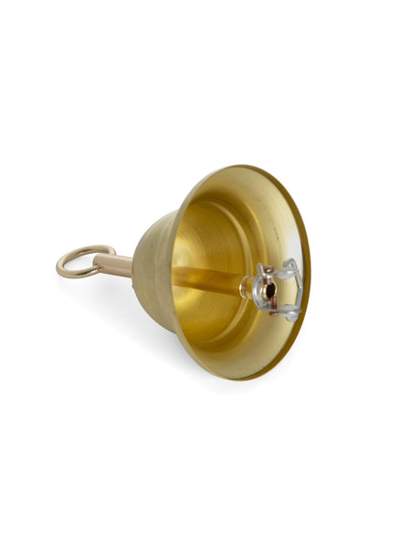 Ceiling cap, brass, complete set