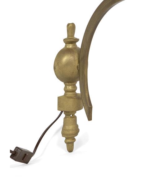 Classic wall lamp 50 cm deep  (= 20 inch ), 1940s