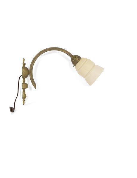 Klassieke wandlamp, 50 cm diep, ca. 1940