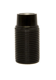 E14 Lamp Socket, Black, External Screw Thread