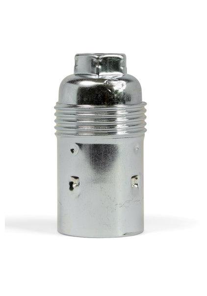 E14 Lamp Socket, Metal, Smooth Surface
