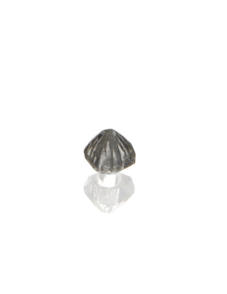 Chandelier glass, pyramid-shaped bead of 0.7 cm