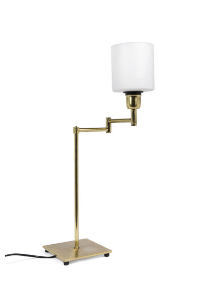 Copper Table Lamp with Up Shining Shade