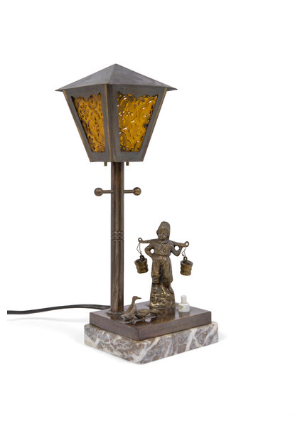 Kleine Tafellamp: Waterhaler