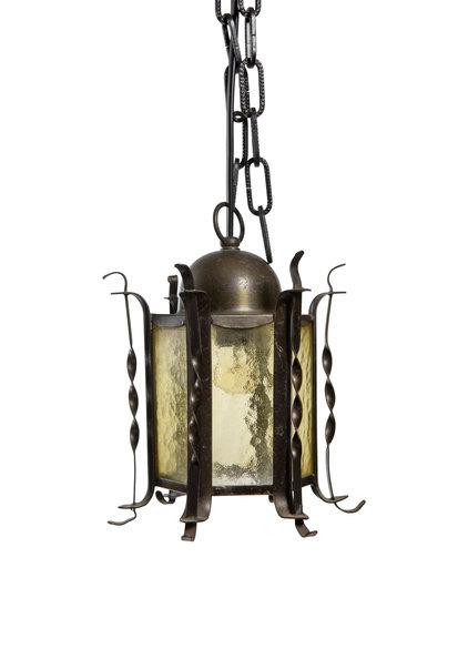 Lantern, Small, Coloured Glass