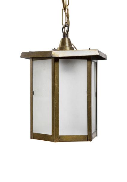 Copper Lantern, 6 Small Windows