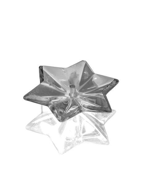 Kroonluchter glas, stervormige kraal