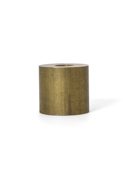 Cylinder of brown copper