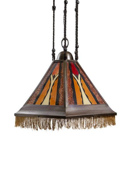 Hanglamp uit de Amsterdamse School Periode