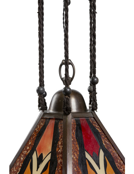 Hanging lamp from the Amsterdam School Period