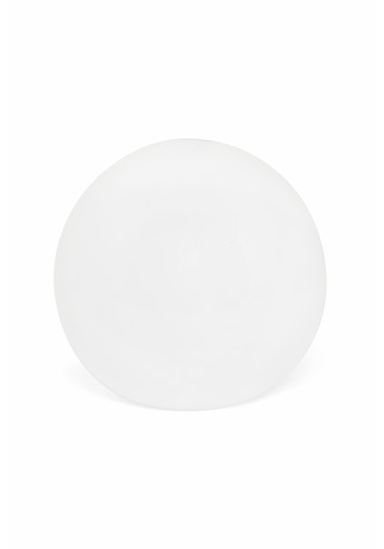 Frosted White Lampshade, Little Sphere, 12 cm (4.7 inch)