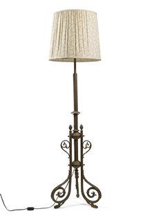 Floor lamp, Fabric Shade
