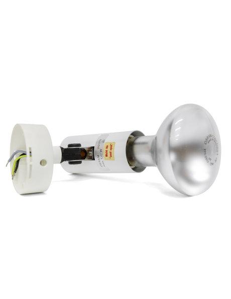 Concentra set, wandlampje met gloeilamp