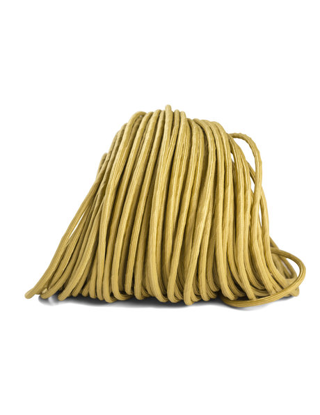 Lamp cord, gold, round, very supple