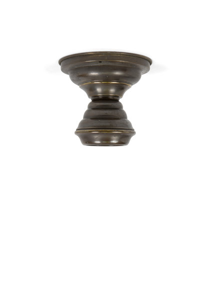 Copper Ceiling Lamp, Burnished
