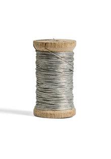 Chandelier Wire on Bobbin -Silver colored-