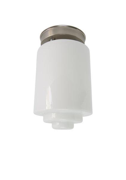 Ceiling Lamp White Glass