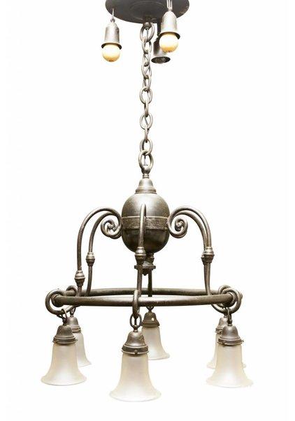 Grote Hanglamp, Jaren 20, Negen Lichtpunten