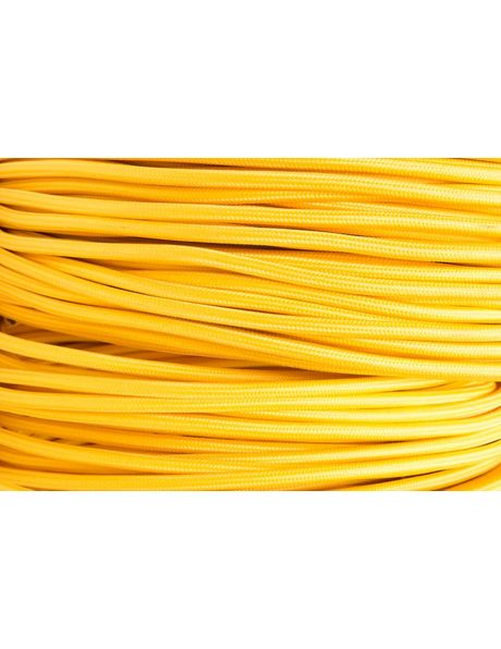 Yellow Electrical Cord, 2 Core Wire