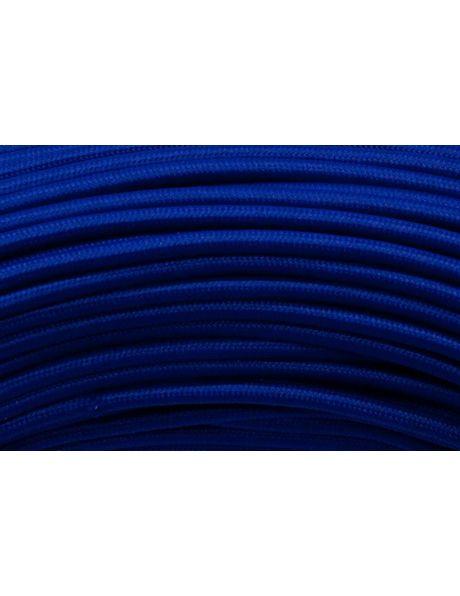 Blauw strijkijzersnoer, ronde uitvoering, 2 aderen