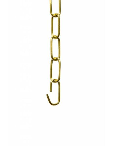 Chain, brass colour, big links