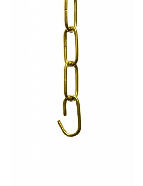 Brass Lamp Chain, Luxurious Version, Warm Colour.