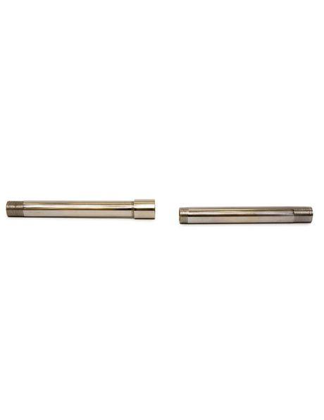 Koppelstuk, M13x1 interne draad, zilverkleur