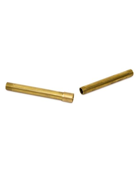 Coupling piece brass, M13, t connect lamp pipes