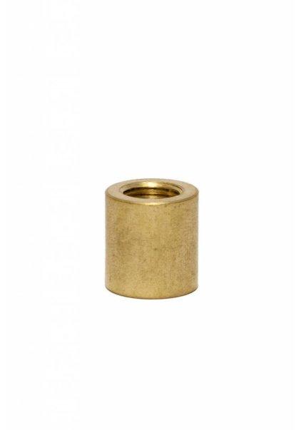 Reducer M13 - M10, Gold Coloured Brass