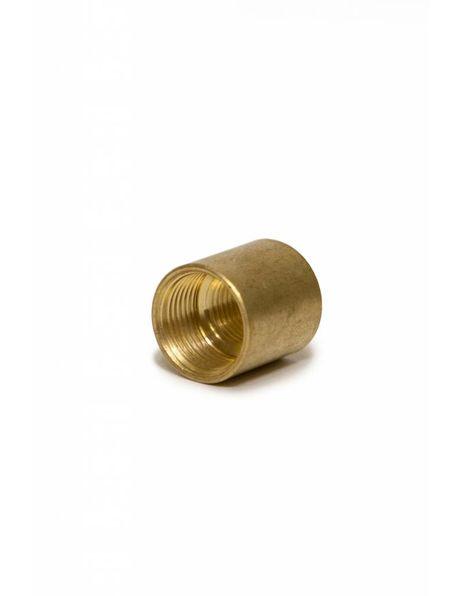 M13 naar M10 Verloopstuk, goud koper kleurig