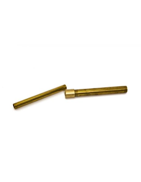 M13 to M10 reducing piece, brass, gold colour