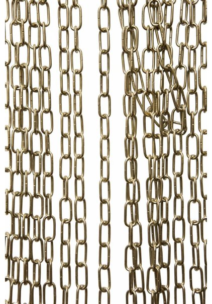 Lamp Chain, Brass, Small Links