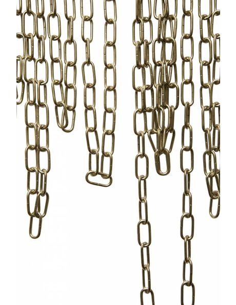Lamp Chain, small links: 2 x 1 cm  /  0.79 x 0.39 inch , chrome colour
