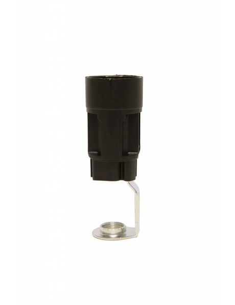 Lamp Socket for Candle Sleeve of Chandelier, hight: 6.5 cm / 2.56 inch, diameter: 2.35 cm / 0.93 inch