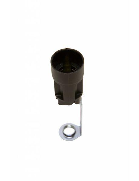 Small lamp socket for Chandelier, hight: 8.95 cm / 3.52 inch, diameter: 2.35 cm / 0.93 inch