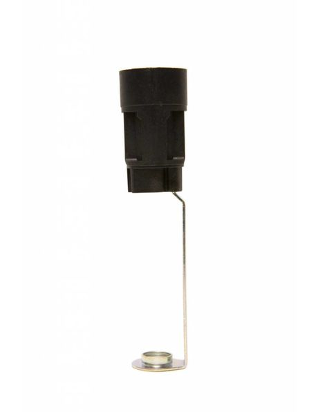 Chandelier Lamp Socket, height: 10.3 cm / 4.06 inch, diameter: 2.35 cm / 0.93 inch