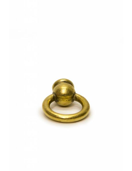 Lamp holder mounting, brass ring nipple with M10 thread