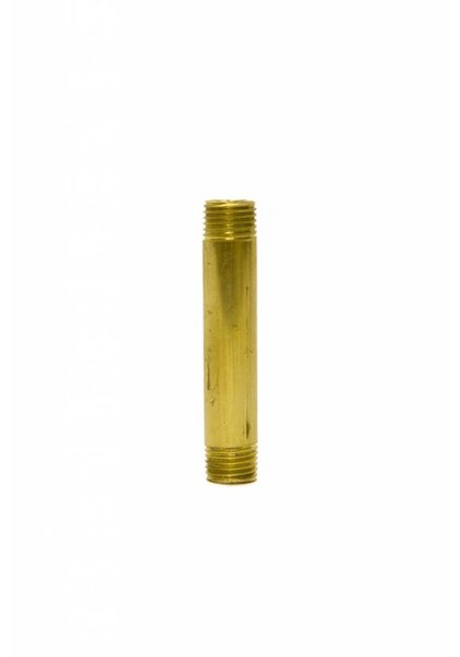 Pipe, 5 cm / 2 inch, M10, Brass