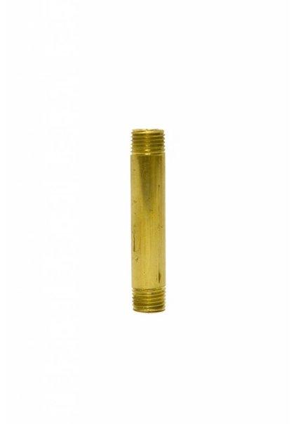Pipe, 5.0 cm (= 2.0  inch), M10, Brass